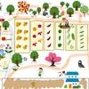 果樹のあるお庭。リスボンレモンとリンゴ(津軽)の苗木をおむかえ