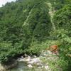 ◆9/16       大鳥池まで③…七ツ滝吊り橋~七曲がり手前
