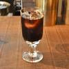 蔵前の「蕪木」でアイスコーヒー、ホットチョコレート(撫子)。