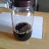 セリアの瓶はアイスコーヒーを入れておくのに最適!