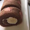ガーリーなハートのロールケーキを作りました。