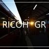 RICOH GRで写真を撮ってきた。街と電車と寒空と。