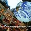 <香港:灣仔>Gaia地球藝術裝置 ~モールに浮かぶ大きな地球藝術装置~