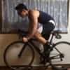 筋肉痛にはなりませんが、ダンベルカール&ディップスを限界回数×3セット