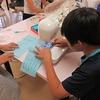 5年生:家庭科 ミシンに挑戦中