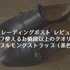 【トレーディングポスト レビュー】オンオフ使えるお値段以上のクオリティのダブルモンクストラップ(茶色)