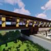 現代的な駅を建築してみた【Minecraft】