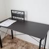 ニトリでPC用の高くて長い机を購入したゾ!