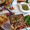【台】日月潭:珍しい山菜や竹筒飯がいっぱい!「日月餐坊」@南投日月潭