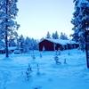 雪と星と遊んだ日