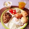 朝食ワンプレート。