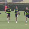 Arsenalの人間関係がかいま見えるCL前日の練習風景