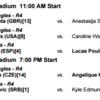 全米オープンテニス2016 7日目9/4(日)の見どころ!穂積・加藤組3回戦
