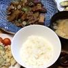 タレをリメイク!大根と豚肉の炒め煮・焼きナス