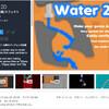 【新作無料アセット】2Dの物理的に流れる「水」をシミュレート!実にリアルな2D水システムが無料でお得♪ ウォーターゲームを開発しよう「Water 2D」