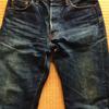 国産ヴィンテージ「CANTON(キャントン)」の復刻モデルと思われる、セルヴィッジ・デニムのジーンズを購入しました
