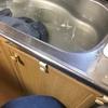 足立区戸建てキッチン排水つまり解消事例
