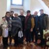 イタリア人夫妻マテオ&シルビア、移住後の初仕事は、2月5日(月)の「金沢市長表敬訪問」。