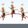 「ジラフとアンニカ」のジャンプアニメーションの解説