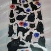 ◆黒猫シール