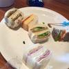 ホテルニューオータニ GARDEN LOUNGE(ガーデンラウンジ)と梅むらの豆かん