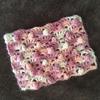 パプコーン編み×モヘア