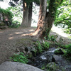 大出口泉水(上越市柿崎区東横山)−新潟県の名水