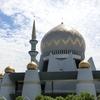 コタキナバル市内観光でサバ州立モスクへ