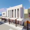 ちょっと古めの銀行を建てる【Minecraft】