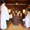 神明神社例祭斎行。