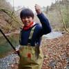 群馬県の渓流で息子と山女魚釣り!