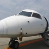 プロペラ旅客機乗ったことある??ANA誇る地方コミューター旅客機、ボンバルディア社製DHC-8-Q400を全力で楽しむ!!(ANA1857便 新潟→新千歳)   (6月帰)