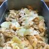 鶏の粒マスタード蒸し