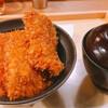 渋谷でタレカツ。丼ものを1時間かけてゆっくりいただく。