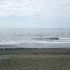 波があると聞いて2ヵ月ぶりに短いボードでサーフィンしたものの、