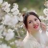 週末無錫鼋头渚桜撮影ツアーに参加してきました。(2)桜ポートレート
