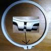 刺繍枠☆彡楕円と正円