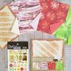 協和紙工さんから発売の折り紙とシールが美味しそう☆