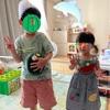 うちの子たちがスイカ食べてるだけの記事