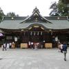 大國魂神社(府中市)への参拝と御朱印