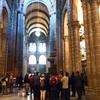 サンティアゴ大聖堂とアラメダ公園