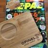 『BE-PAL 10月号』付録「OPINELバンブーカッティングボード」【レビュー】OPINELナイフと一緒に使いたい