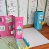 2年生:図工「窓を開いて」作品