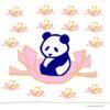 パンダの喫茶店「カフェ 群青パンダ」11 パンダのイラスト