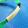 バドミントンラケット 修理 (補修) 折れた(ヒビ)部分を補強する その7