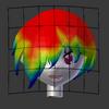 Blender備忘録17頁目「頭部のモデリング9」
