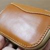 """""""ポルコロッソL字ファスナー財布""""購入から1ヶ月後の状態を確認してみる【エイジング】"""