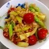 【今日のごはん】アスパラガスとトマトのさわやかサラダ