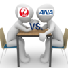 JAL対ANA JAL国内線ファーストクラスとANAプレミアムクラス機内食対決