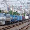 6月24日撮影 東海道線 平塚~大磯間 貨物列車2本撮影 1097レ 2079レ